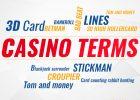 Casino Terms